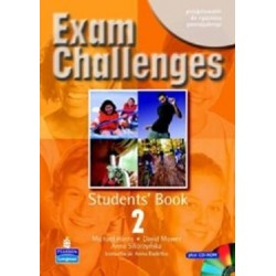 EXAM CHALLENGES 2. STUDENTS' BOOK + PŁYTA CD-ROM
