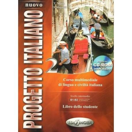 NUOVO PROGETTO ITALIANO 2. PODRĘCZNIK + PŁYTA CD