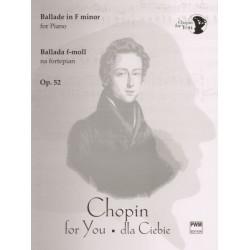 BALLADA F-MOLL NA FORTEPIAN OP. 52 Fryderyk Chopin