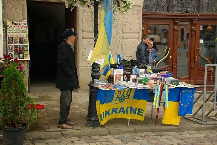 UE na rynku we Lwowie