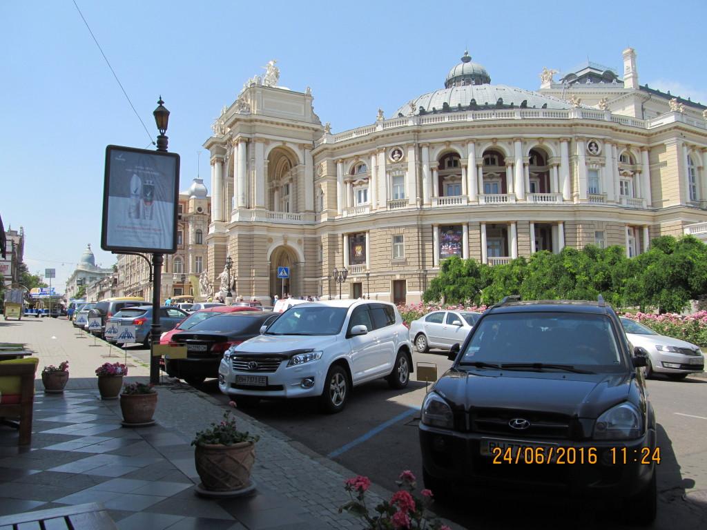 Odessa - budynek opery