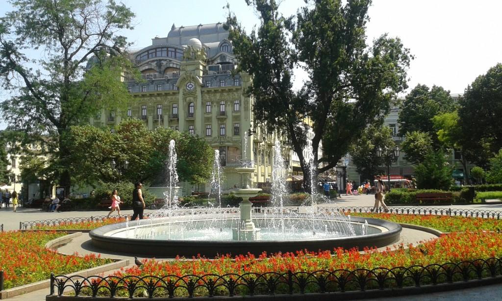 Odessa - park miejski