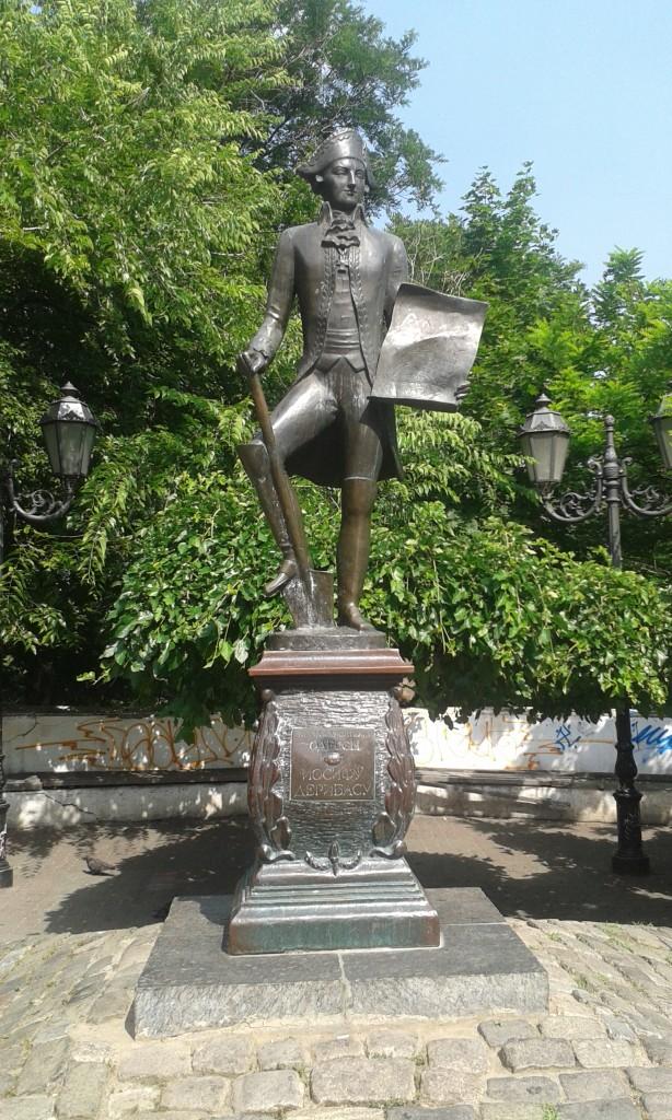 Odessa - pomnik Deribasowa