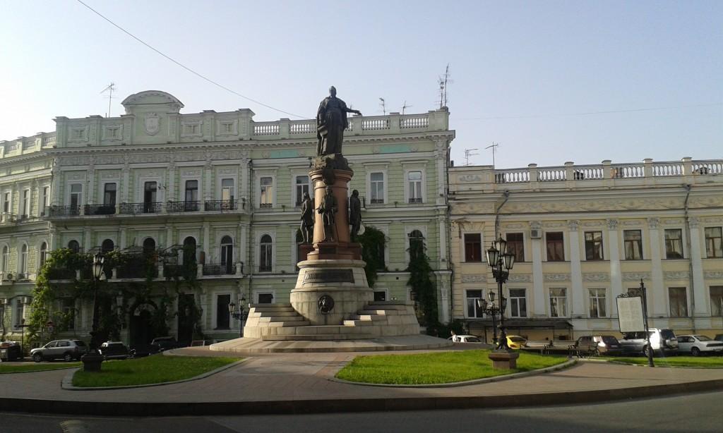 Odessa - pomnik carycy Katarzyny
