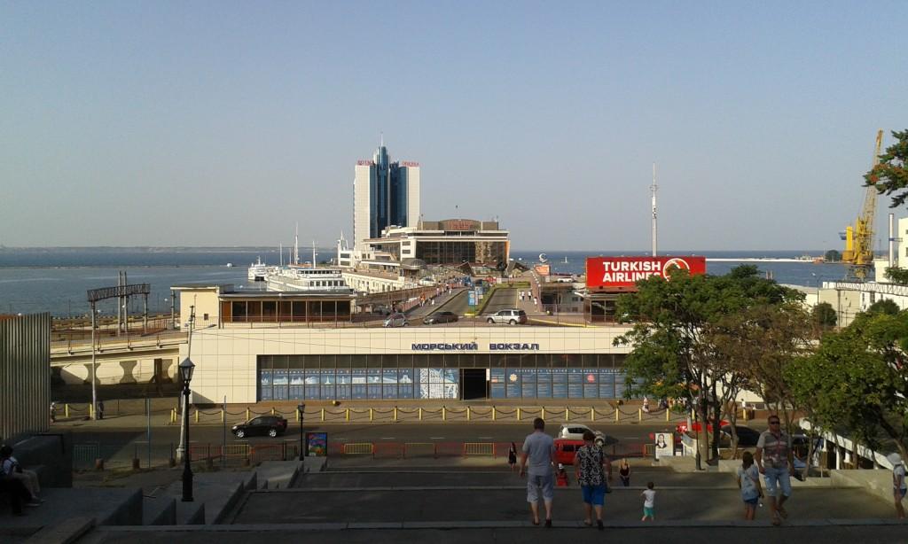 Dworzec Morski w Odessie