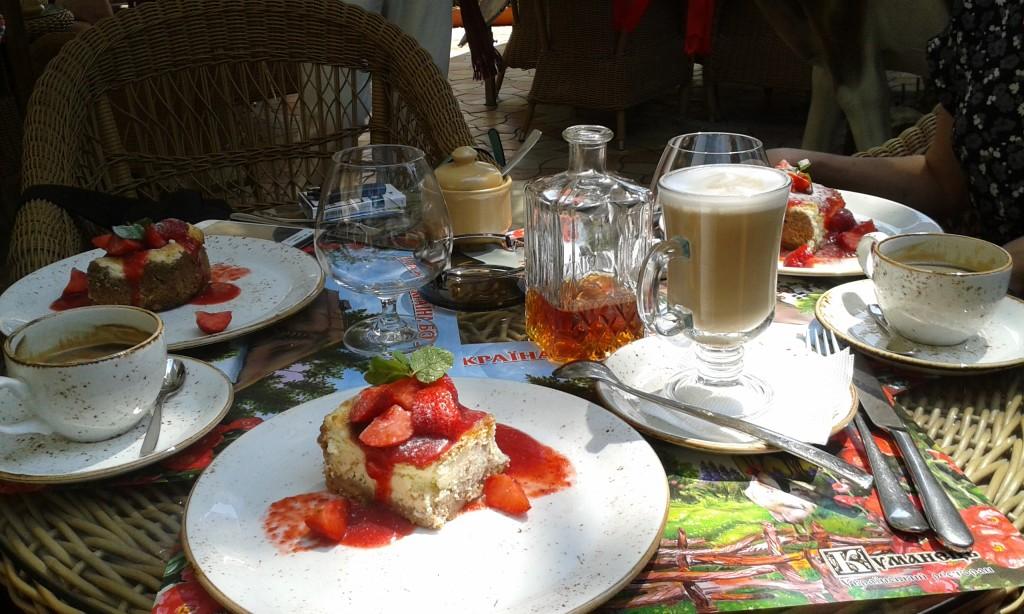 Odessa - restauracja Kumanec