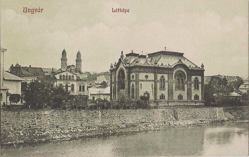 źródło: Wikimedia (https://commons.wikimedia.org/wiki/File:Uzhgorod_(Ungvar),synagogue.jpg)