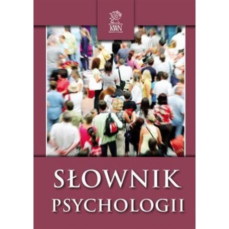 SŁOWNIK PSYCHOLOGII [antykwariat]