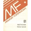 Ludwig van Beethoven MARSZ TURECKI NA FORTEPIAN. MINIATURA FORTEPIANOWA 61