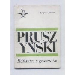 Ksawery Pruszyński RÓŻANIEC Z GRANATÓW [antykwariat]