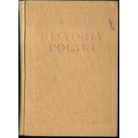 HISTORIA POLSKI TOM III CZĘŚĆ I: 1850/1864-1900 [antykwariat]