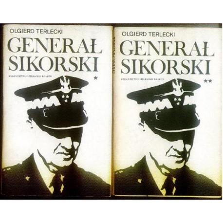Olgierd Terlecki GENERAŁ SIKORSKI. TOM 1-2 [antykwariat]