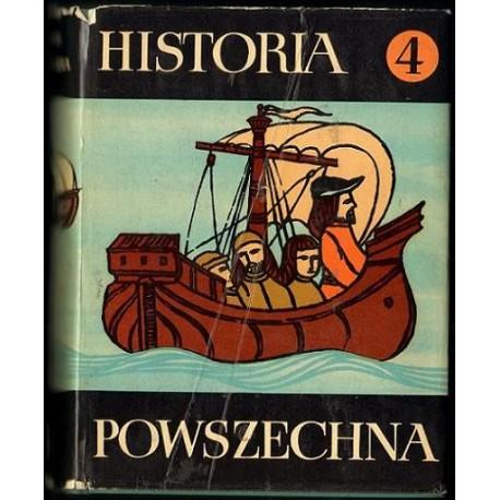 HISTORIA POWSZECHNA. TOM 4 [antykwariat]