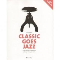 CLASSIC GOES JAZZ NA FORTEPIAN + CD Jean Kleeb