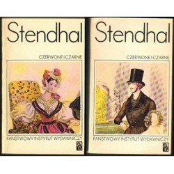 Stendhal CZERWONE I CZARNE. TOM 1-2 [antykwariat]