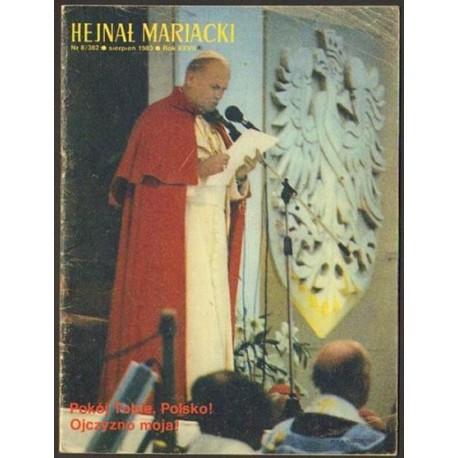 HEJNAŁ MARIACKI NR 8/382. SIERPIEŃ 1983. ROK XXVII [antykwariat]