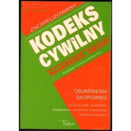 ZNOWELIZOWANY KODEKS CYWILNY. STAN PRAWNY NA 28 GRUDNIA 1996 [antykwariat]