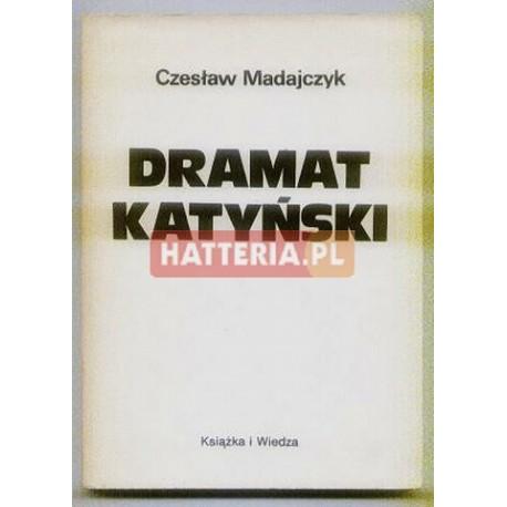 Czesław Madajczyk DRAMAT KATYŃSKI [antykwariat]