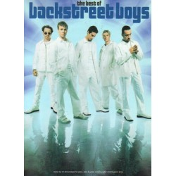 THE BEST OF BACKSTREET BOYS. TWELVE TOP TEN HITS ARRANGED FOR PIANO, VOICE & GUITAR [antykwariat]