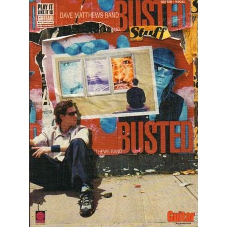 DAVE MATTHEWS BAND - BUSTED STUFF. GUITAR & VOCAL [antykwariat]