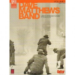 DAVE MATTHEWS BAND - LIVE IN CHICAGO 12.19.98 AT THE UNITED CENTER VOL. 1. GUITAR & VOCAL [antykwariat]