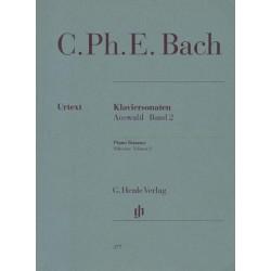 Carl Philip Emmanuel Bach KLAVIERSONATEN. AUSWAHL BAND 2 [antykwariat]
