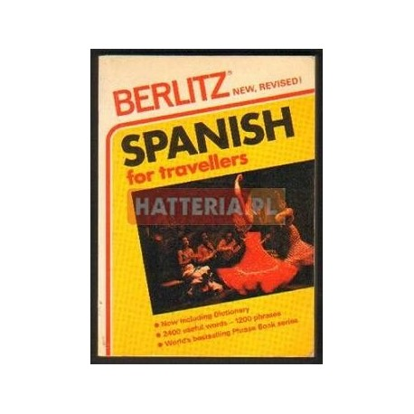 SPANISH FOR TRAVELLERS [antykwariat]
