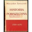 Mieczysław Żywczyński HISTORIA POWSZECHNA 1789-1870 [antykwariat]