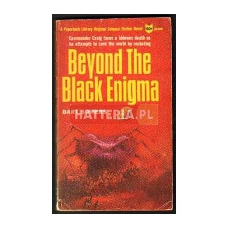 Bart Somers BEYOND THE BLACK ENIGMA [antykwariat]