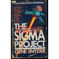 Gene Snyder THE SIGMA PROJECT [antykwariat]