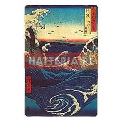 WIRY W NARUTO W PROWINCJI AWA Utagawa Hiroshige [pocztówka-077]