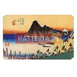Utagawa Hiroshige WIDOK Z MAISAKA NA PRZYLĄDEK IMAGIRI [pocztówka]