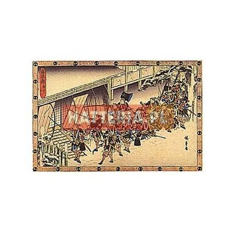 NOCNY ATAK, EPIZOD DRUGI Z XI AKTU Utagawa Hiroshige [pocztówka-079]