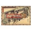 NOCNY ATAK, EPIZOD DRUGI Z XI AKTU Utagawa Hiroshige [pocztówka]