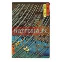 Utagawa Hiroshige ULEWA W WĄWOZIE YAMABUSHI W PROWINCJI MIMASAKA [pocztówka]
