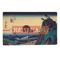 Utagawa Hiroshige WYBRZEŻE SHICHIRIGA-HAMA W PROWINCJI SAGAMI [pocztówka]
