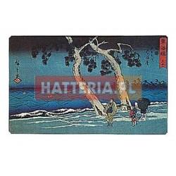 Utagawa Hiroshige WZBURZONE MORZE W HAMAMATSU [pocztówka]