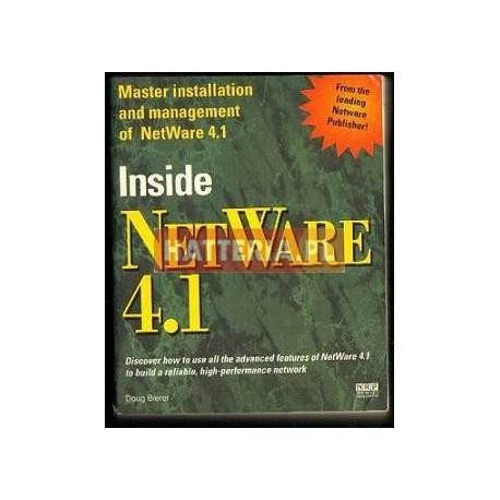 Doug Bierer INSIDE NETWARE 4.1 [antykwariat]
