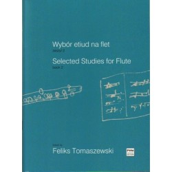 Feliks Tomaszewski (ed.) SELECTED STUDIES FOR FLUTE. BOOK 3