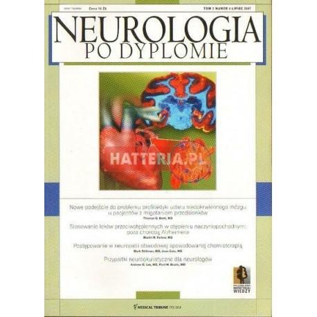 NEUROLOGIA PO DYPLOMIE. TOM 2 NR 4. LIPIEC 2007 [antykwariat]