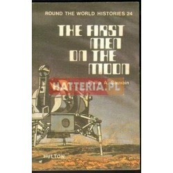 Philip A. Sauvain THE FIRST MEN ON THE MOON [antykwariat]