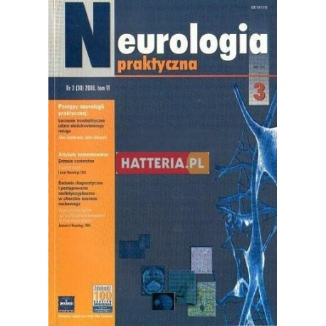 NEUROLOGIA PRAKTYCZNA. NR 3 (30) 2006. TOM 6 [antykwariat]