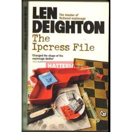 Len Deighton THE IPCRESS FILE [antykwariat]