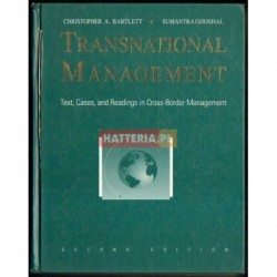 Christopher A. Bartlett, Sumantra Ghoshal TRANSNATIONAL MANAGEMENT. SECOND EDITION [antykwariat]