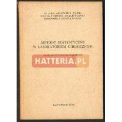 METODY STATYSTYCZNE W LABORATORIUM CHEMICZNYM [antykwariat]