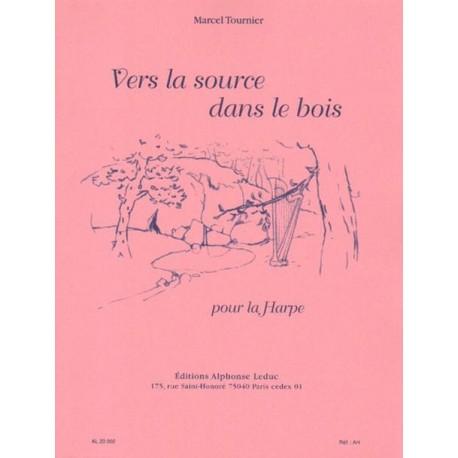 Marcel Tournier VERS LA SOURCE DANS LE BOIS POUR LA HARPE [antykwariat]