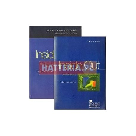 Sue Kay, Vaughan Jones, Philip Kerr INSIDE OUT INTERMEDIATE. STUDENT'S BOOK + WORKBOOK [antykwariat]