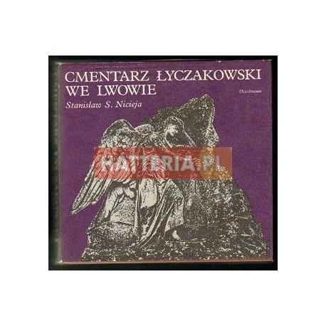 Stanisław S. Nicieja CMENTARZ ŁYCZAKOWSKI WE LWOWIE [antykwariat]