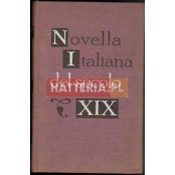 NOVELLA ITALIANA DEL SECOLO XIX [antykwariat]