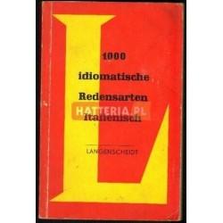 Herbert Frenzel, Werner Ross 1000 IDIOMATISCHE REDENSARTEN ITALIENISCH [antykwariat]